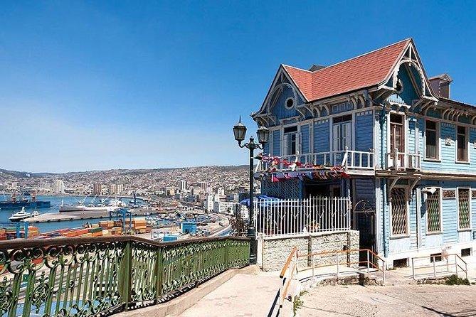 Valparaíso, Neruda museum and Organic Vineyard Tour from Santiago