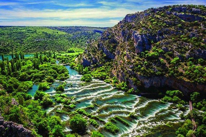De Zadar aux cascades de Krka Visite privée de Skardinski Buk Roski Slap