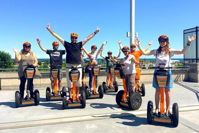 Segways are fun and easy to ride!