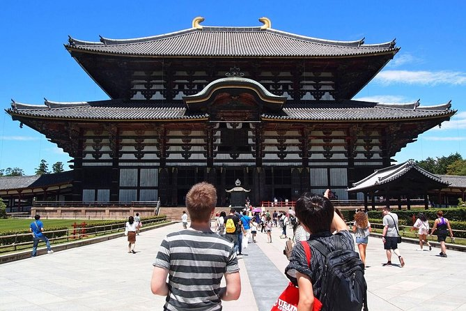 The Essence of Nara Cultural Tour: Big Buddha, Bambi and Backstreets