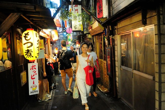 Tokyo: Shinjuku Drinks and Neon Nights Three-Hour Small-Group Tour