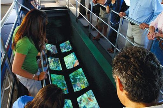 Key West Glass-Bottom Boat Tour with Sunset Option