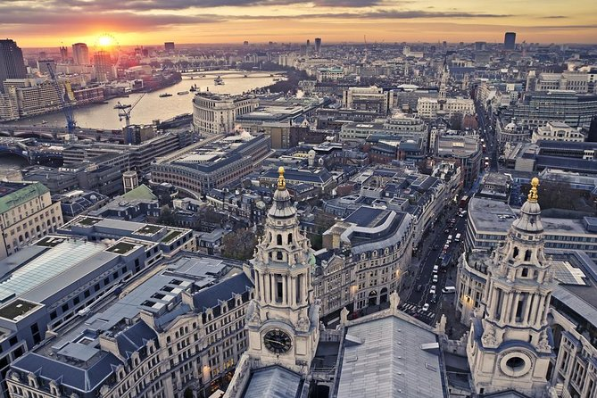 City Sights from Above and Below: privétour door Londen per ouderwetse 'black cab'