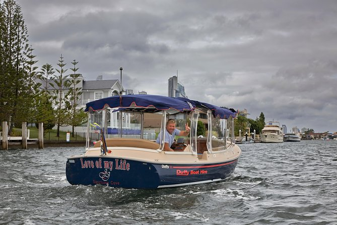 Gold Coast Private Skippered Limo on the Water Canal Cruise
