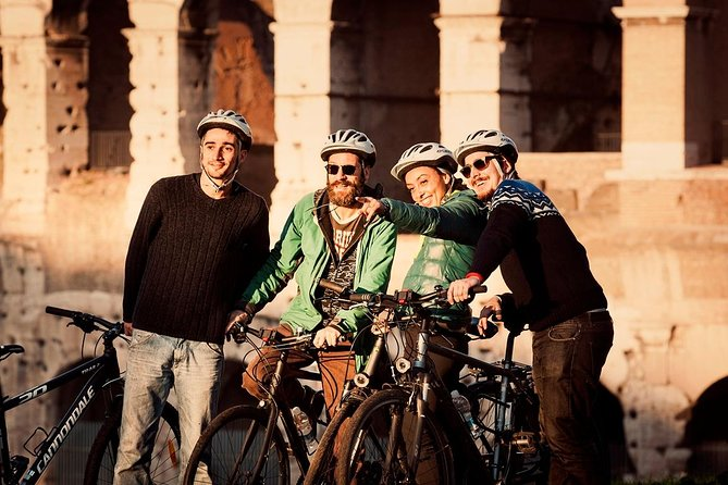 Rome City Small-Group Bike Tour with Electric-Assist Bicycle