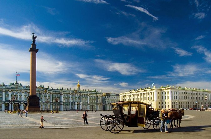 "Sightseeing city tour ""Majestic Saint-Petersburg"""