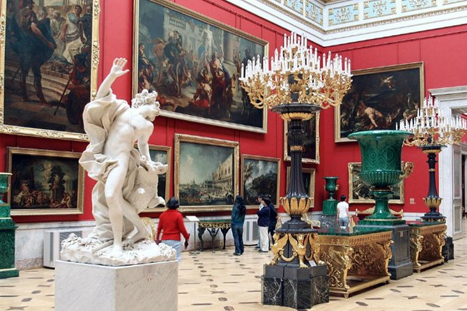 Hermitage tour and Impressionists exposition
