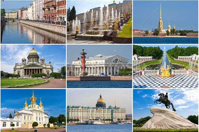 All the best of Saint-Petersburg in one day