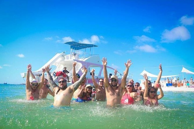 Small Groups Private Party Boat with Water Slide and Open Bar
