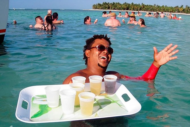 Punta Cana Booze Cruise with Snorkeling, Natural Pool and Unlimited Drinks