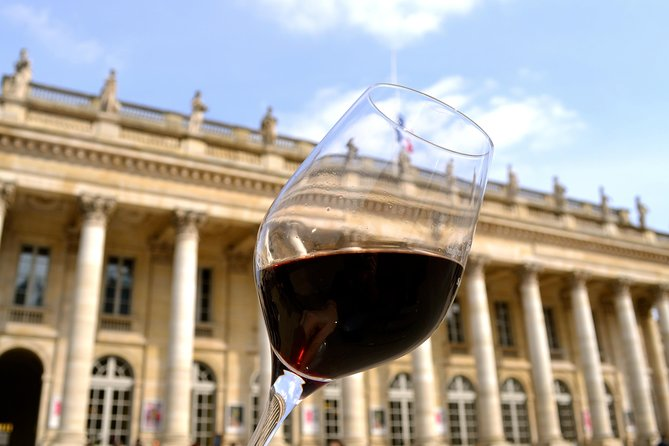 Bordeaux City Wine & Cultural Guided Walking Tour with 4 Tastings