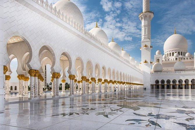 Sheikh Zayed Grand Mosque Tour From Dubai Dubai United
