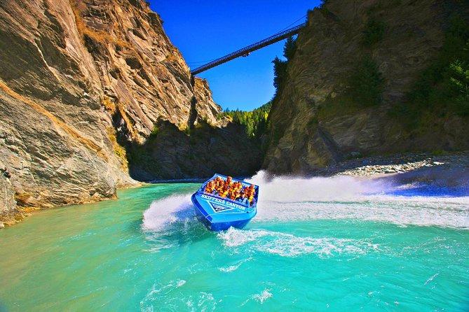 Excursão de barco a jato para skippers no Canyon