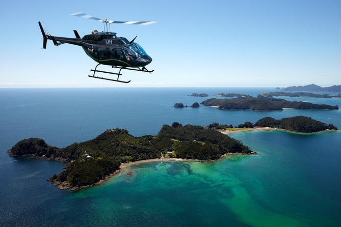 Bay of Islands Shore Excursion: Scenic Helicopter Tour Including Hole in the Rock