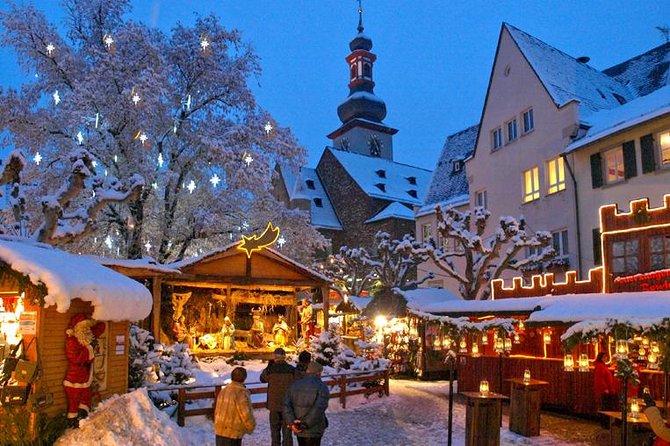 フランクフルトからのクリスマスマーケット訪問とクリスマスディナー