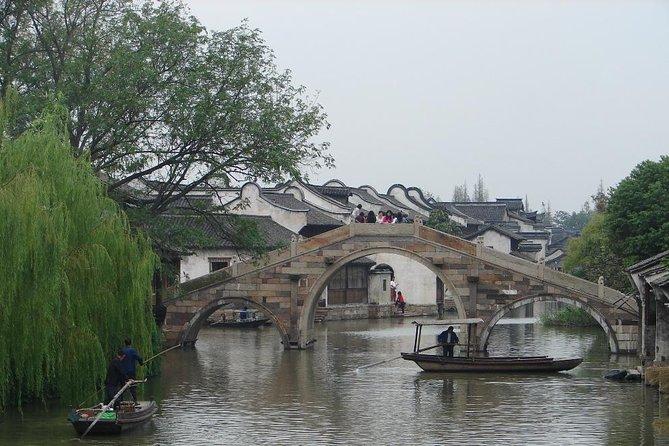 Excursão do dia da cidade da água de Wuzhen de Hangzhou