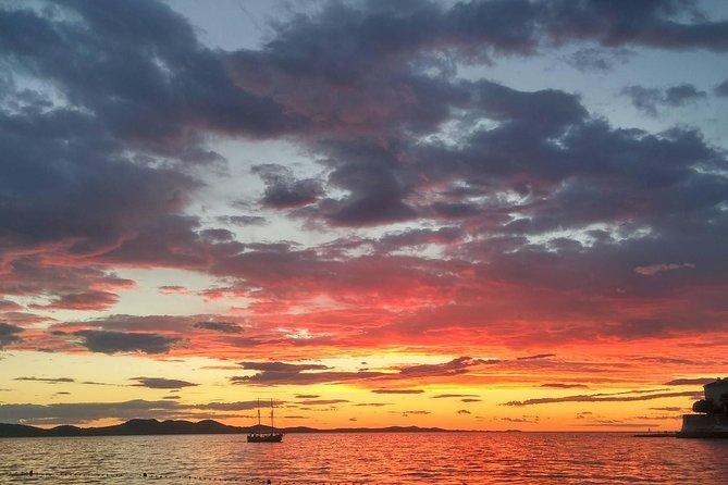 Excursão ao pôr do sol em toda a costa de Zadar