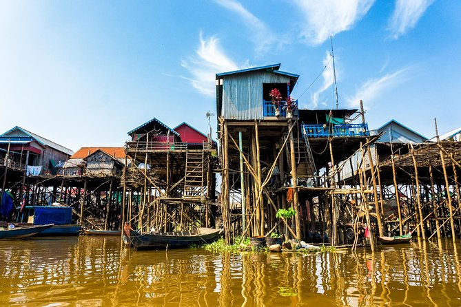 Tonle Sap Lake and Kampong Phluk Private Half Day tour from Siem Reap photo 1
