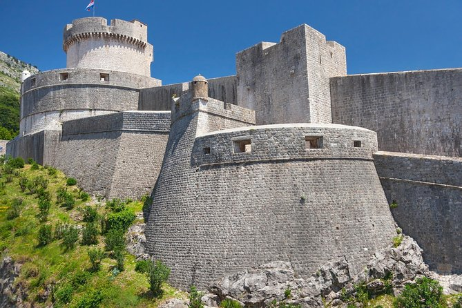 Dubrovnik City Walls Walking Tour (entrance ticket included)