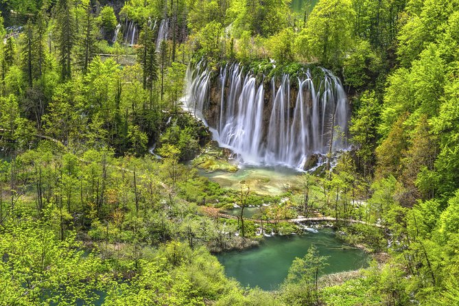 Plitvice Lakes National Park Day Trip from Zagreb