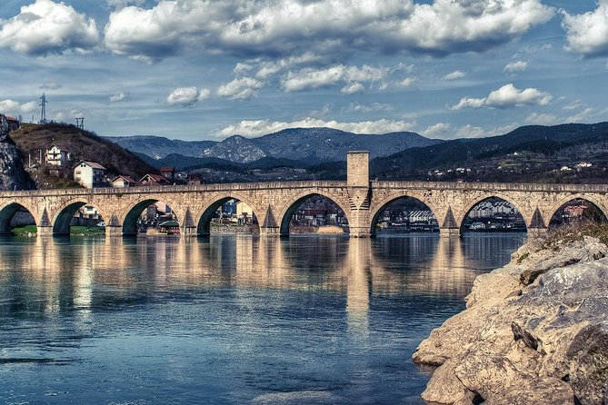 Transfer from Sarajevo to Belgrade with visit Visegrad, Andricgrad and Drvengrad