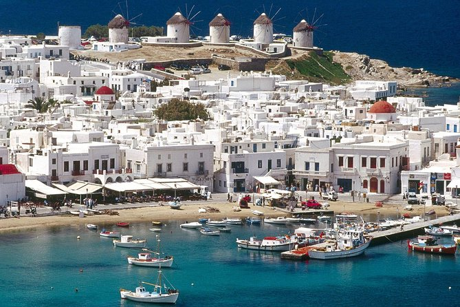 4 Nights in the Greek Islands from Athens: Santorini, Mykonos and Syros