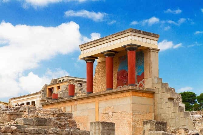 Private Tour to Knossos and Archaeological Museum or Shopping from Heraklion