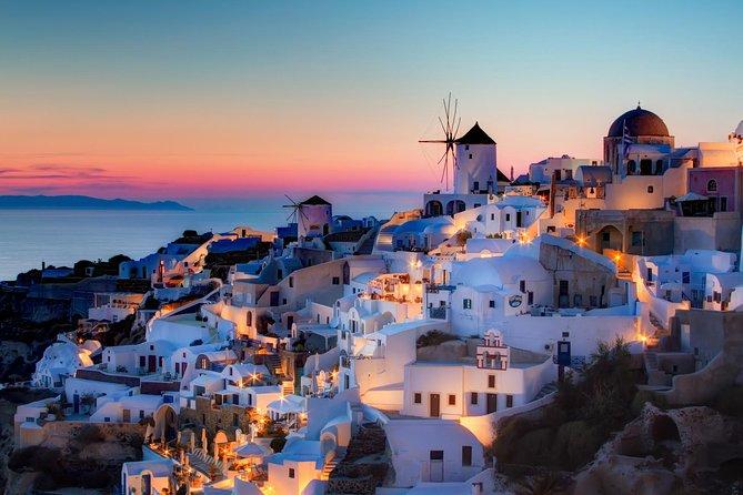 Santorini: Private Scenic Tour of the Island