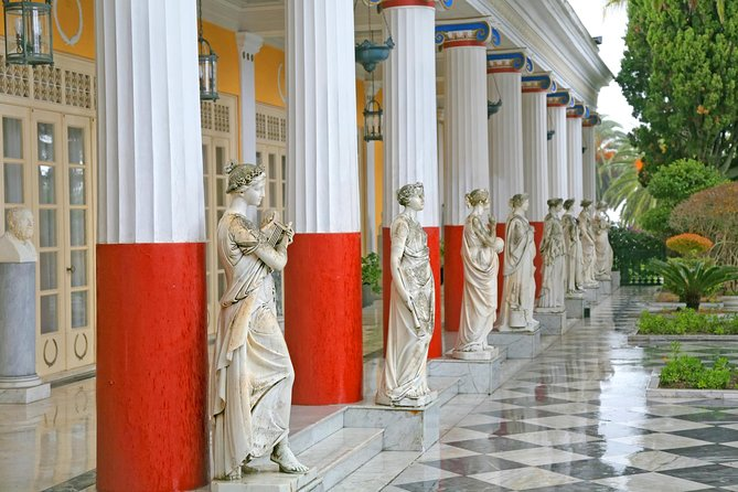Corfu Shore Excursion: Private Island Tour Including Achillion Palace