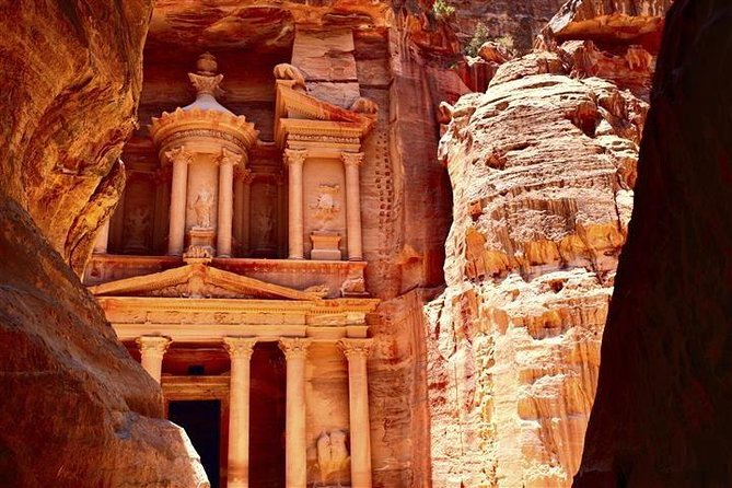 Petra the Desert Rose & Wadi Rum Private 1 day Excursion
