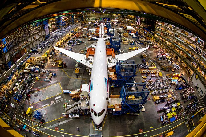 Boeing Factory Tour from Seattle