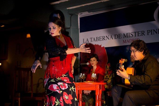Show de flamenco em Madri no La Taberna de Mister Pinkleton