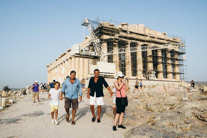 Tour privato dell'Acropoli con guida esperta con biglietti d'ingresso