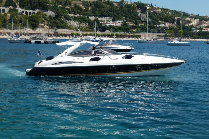 Cannes Shore Excursion: Private Luxury Motorboat Cruise with Personal Skipper