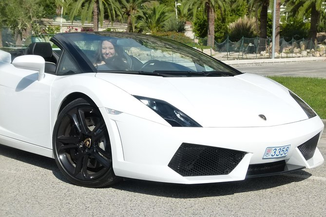 Lamborghini Sports Car Experience from Nice