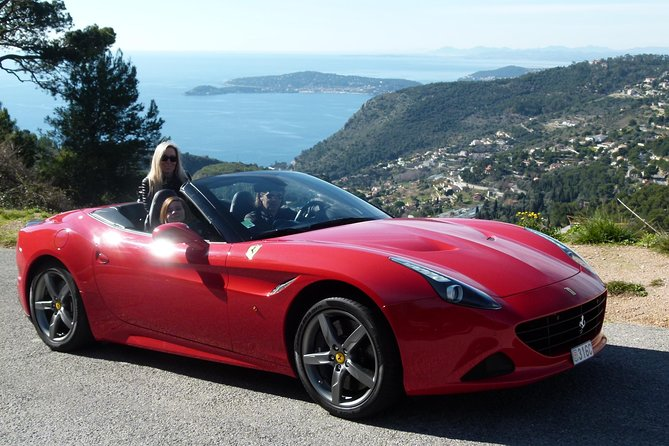 30 Minute Ferrari California T Sports Car Experience from Monaco