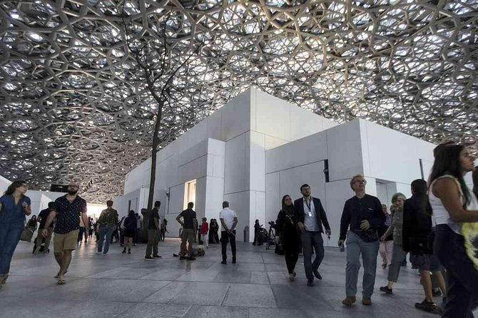 LOUVRE Abu Dhabi Ticket with Luxurious Transportation