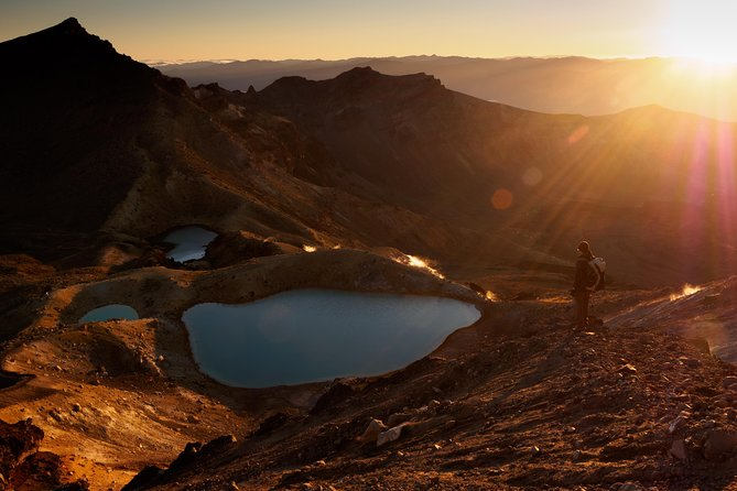 Private Sunrise Tongariro Alpine Crossing Guided Walk