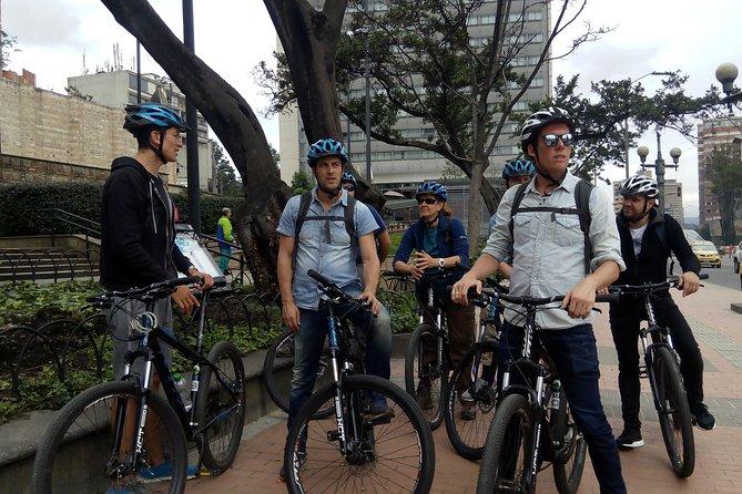 Bike Tour in Bogota Historical Sites and Fruit Market