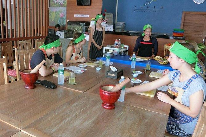 Phuket Thai Cooking Class Half Day in Kata Area