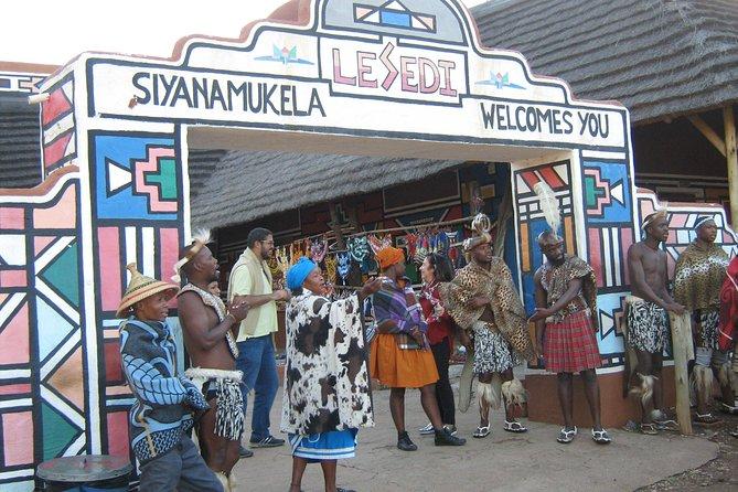 Lesedi African Cultural Village Tour