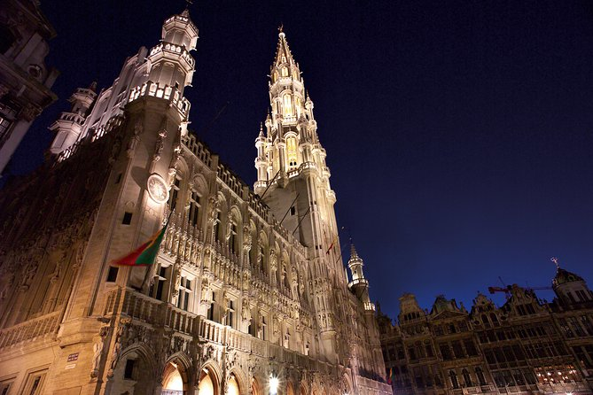 Tour to Brussels from London via Eurostar Train, with Brussels Open Top Bus Tour