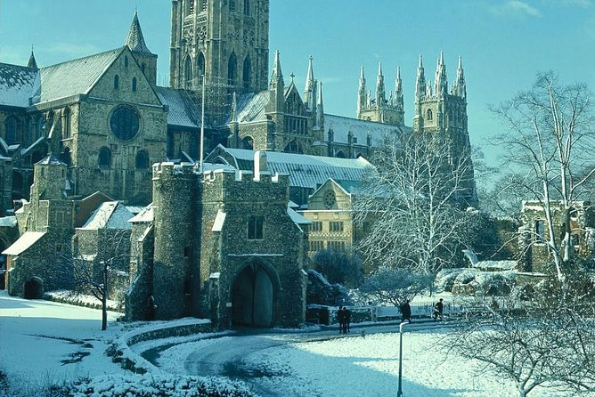 Leeds Castle Canterbury Cathedral Dover and Greenwich on Boxing Day