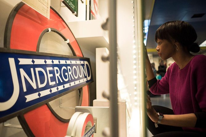 London Transport Museum Entrance Ticket