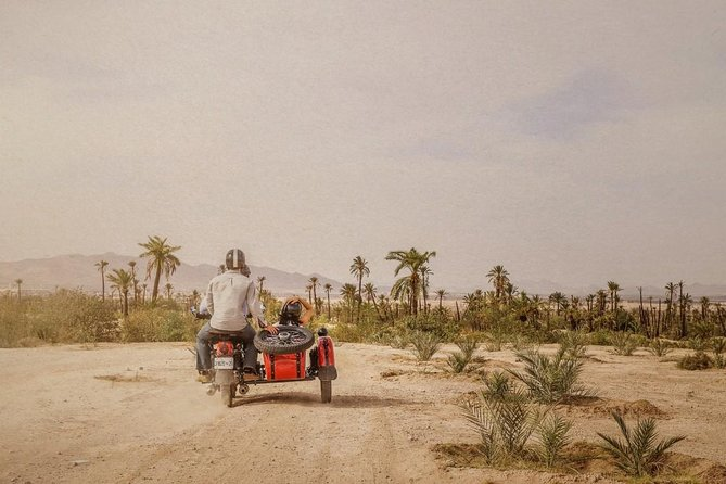 3 Hour Private Sidecar Ride Secrets of Marrakech
