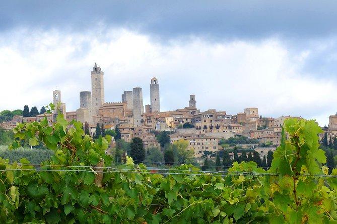 Private Siena to Florence Chianti and San Gimignano Transfer Tour