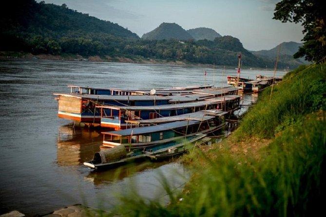 Croisière sur le Mékong au coucher du soleil au départ de Luang Prabang