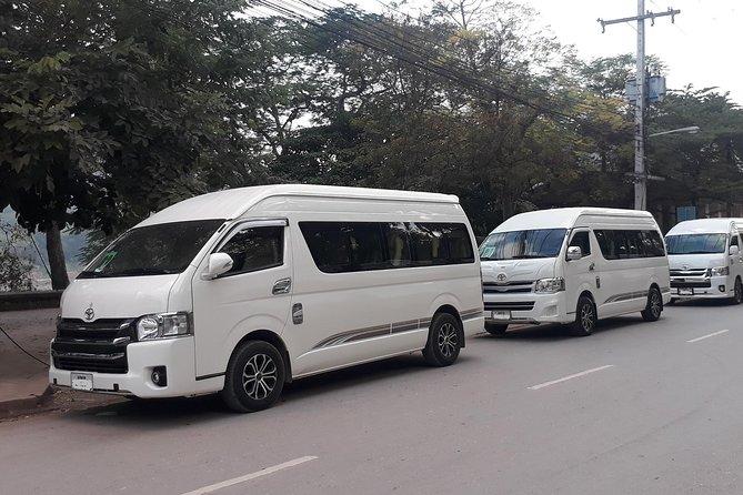 Shared transfer from Vang Vieng to Luang Prabang city