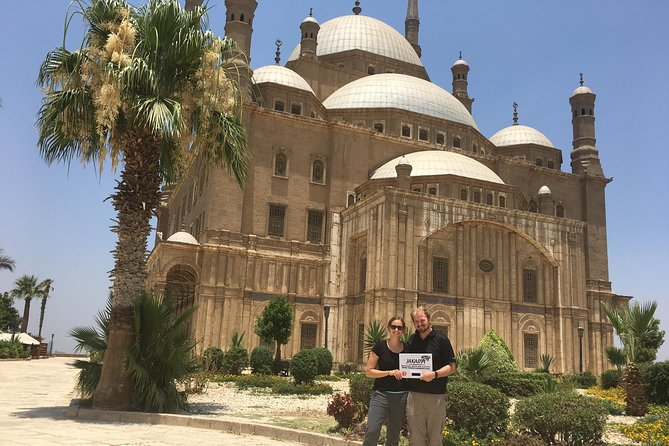 Cairo Sightseeing Highlights Tour Visiting Egyptian Museum Citadel with Mohamed Ali Mosque and khan khalili Bazaar