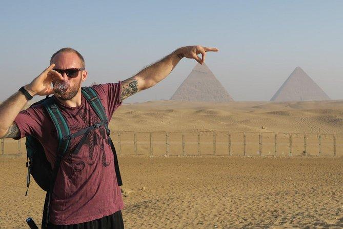 Private Sunset Camel Ride around the Giza Pyramids Desert